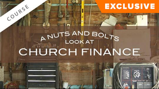 A Nuts and Bolts Look at Church Finance