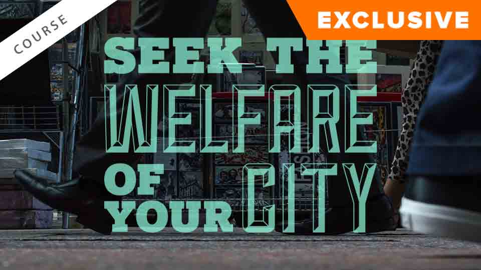 Seek the Welfare of Your City