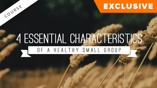 4 Essential Characteristics of a Healthy Small Group