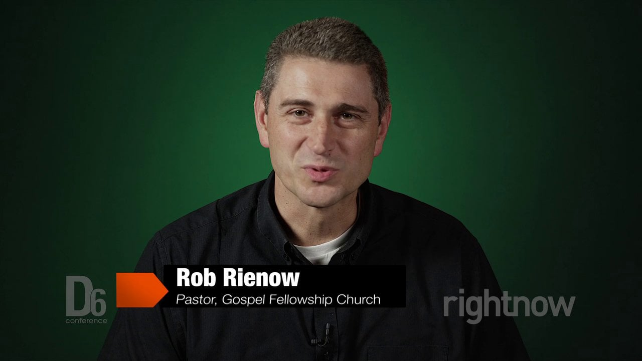 Rob Rienow - Unifying Family Ministry