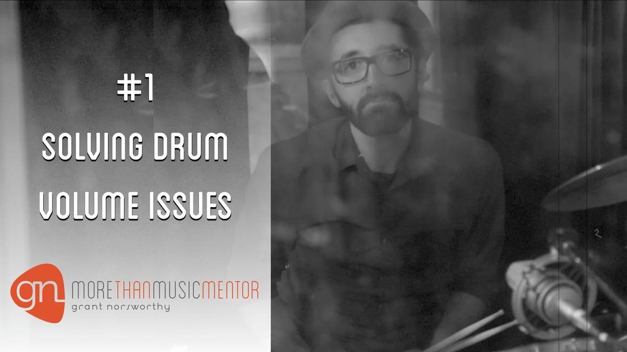 Solve Drum Volume Issues