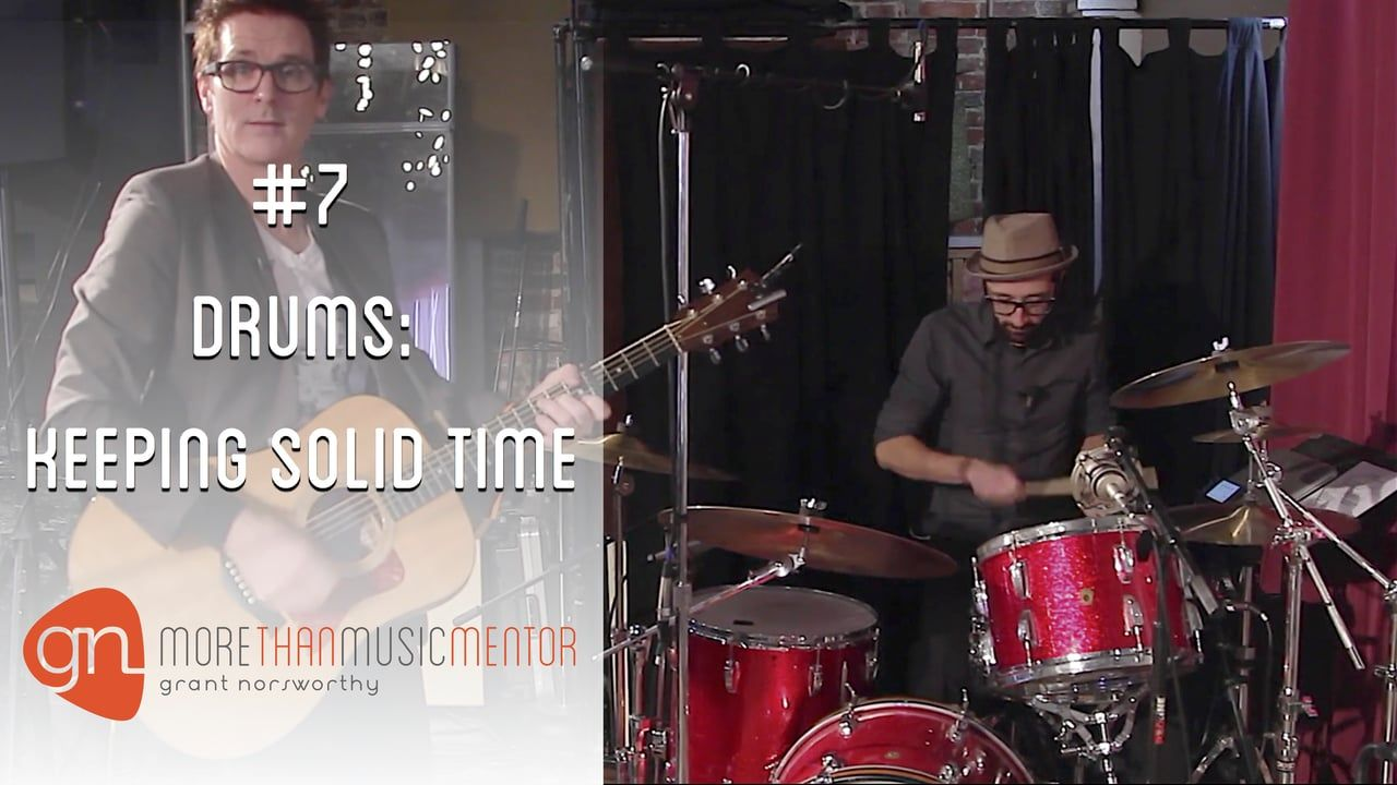 Keeping Time on Drums