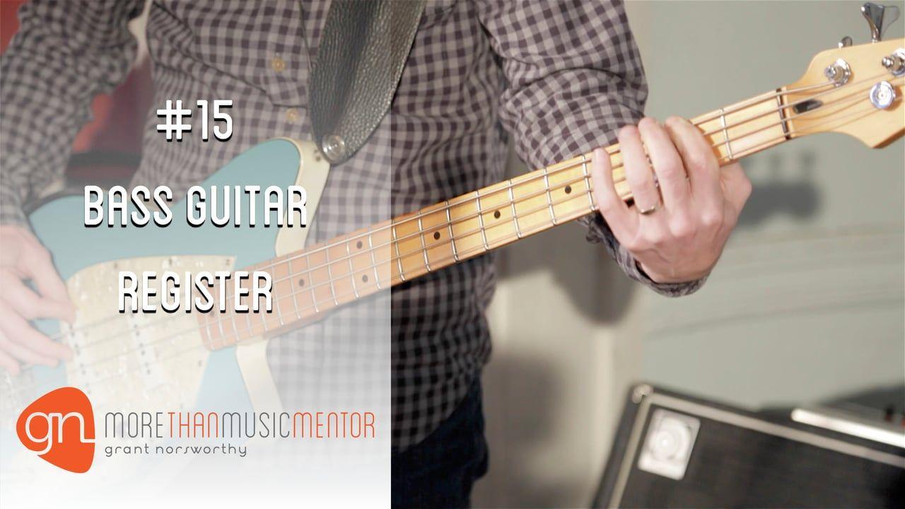 Bass Guitar Register