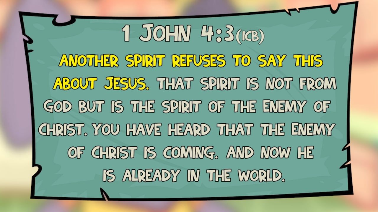 What Is A Christian - 1 John 4:1–6