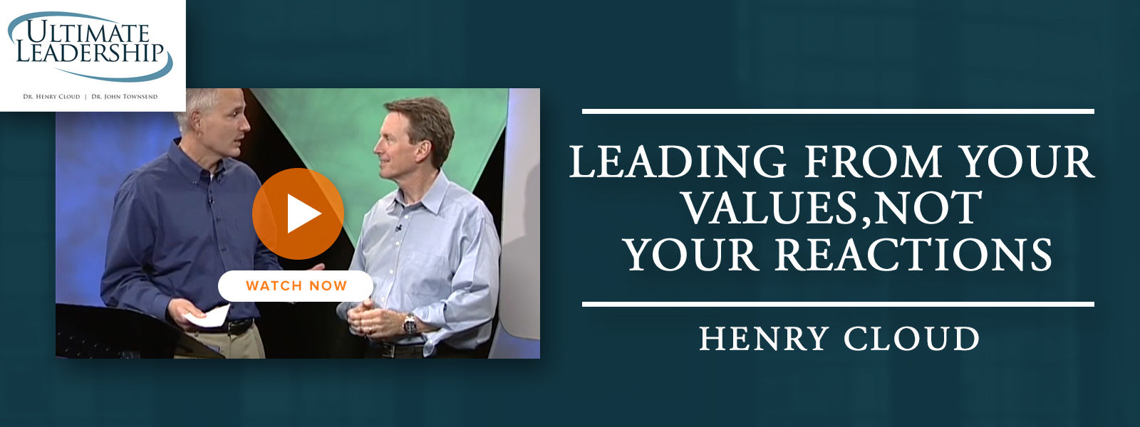 Leading from Your Values, Not Your Reactions
