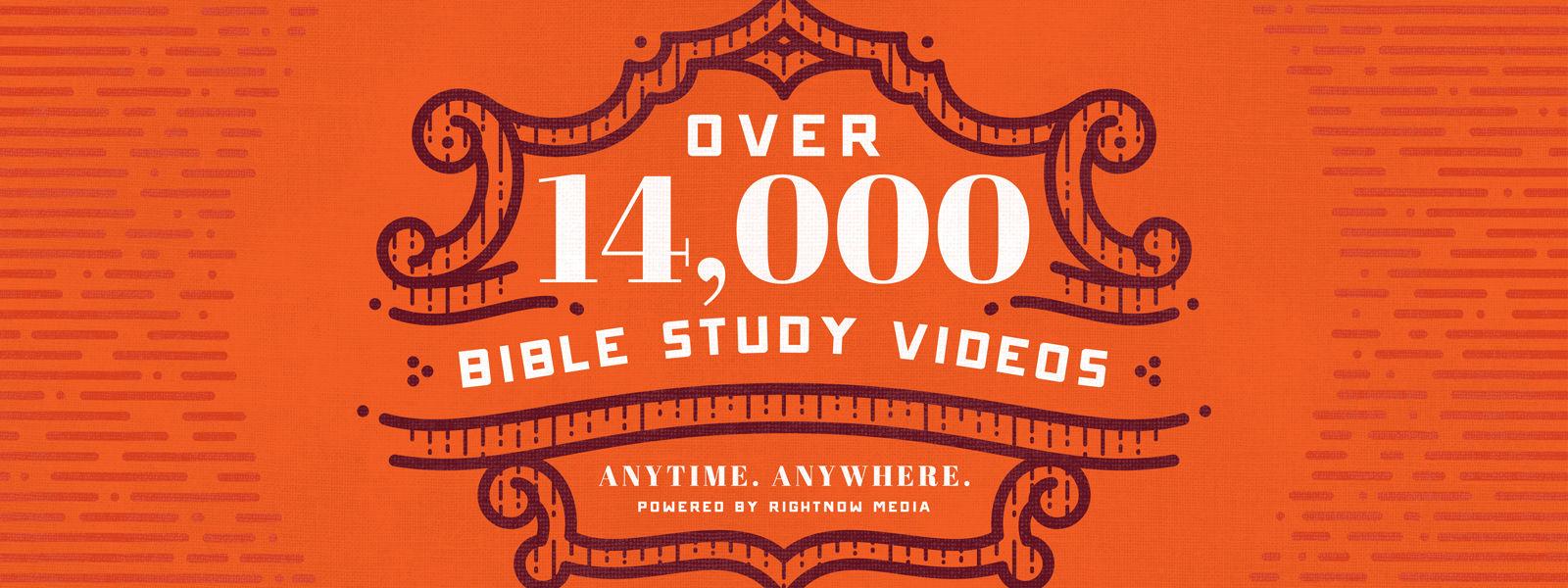 10000 Bible Study Videos
