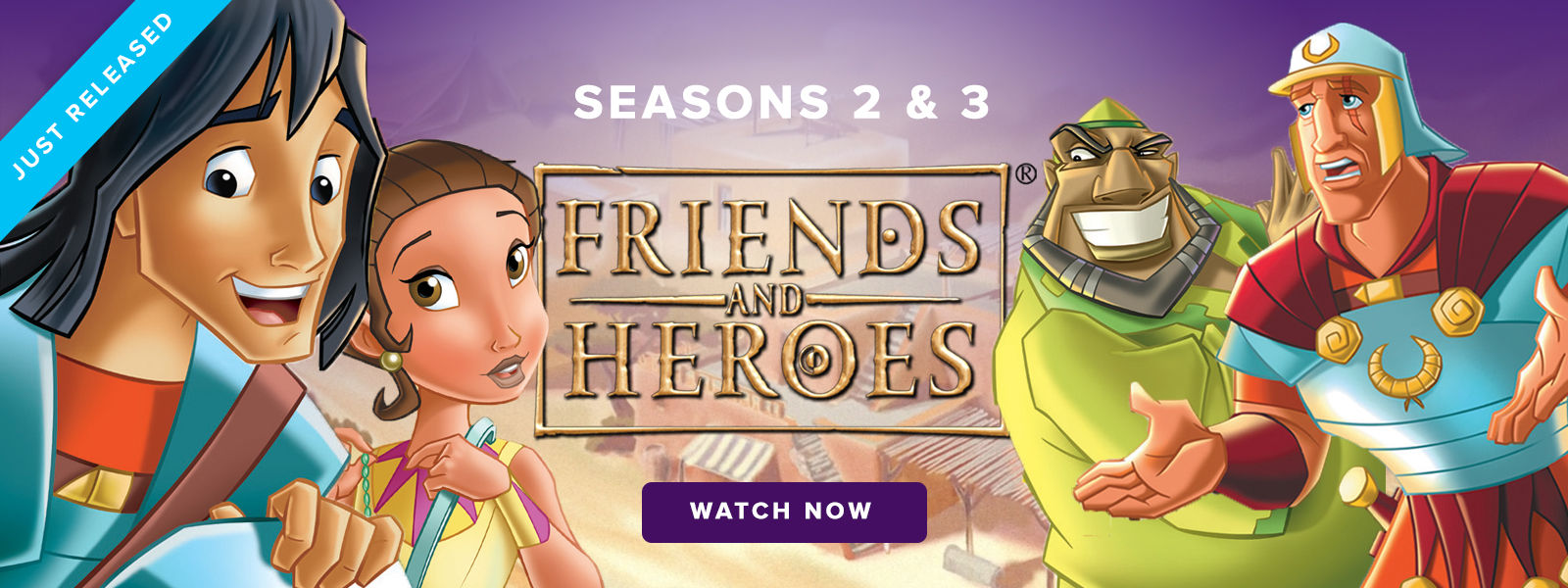 Friends and Heroes 2 & 3