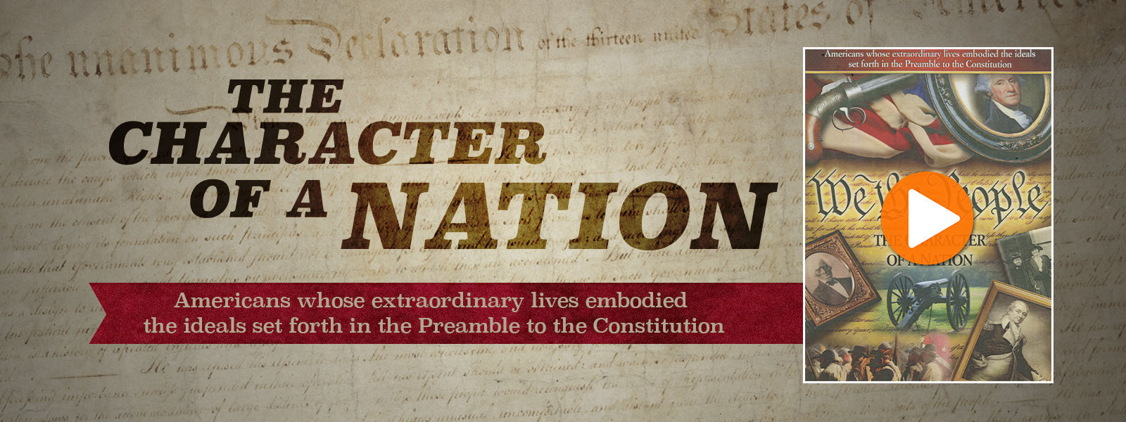 We the People - The Character of a Nation