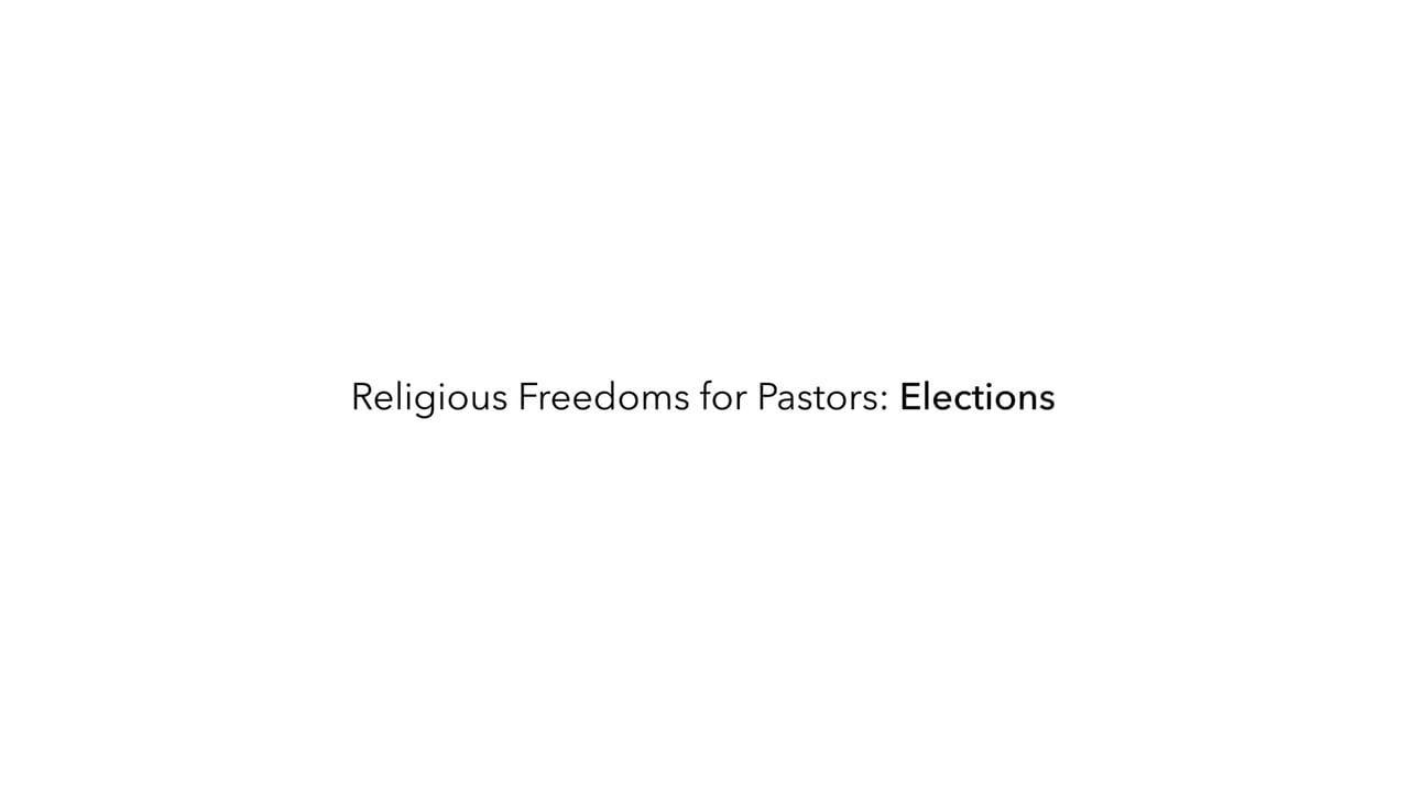 Set the Record Straight on Pastors and Politics