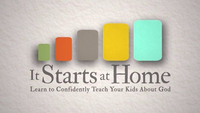 """Leading """"It Starts at Home"""" Parenting Bible Study"""
