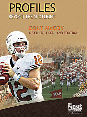 Colt McCoy: A Father, A Son, and Football
