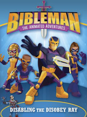 Bibleman - Disabling the Disobey Ray
