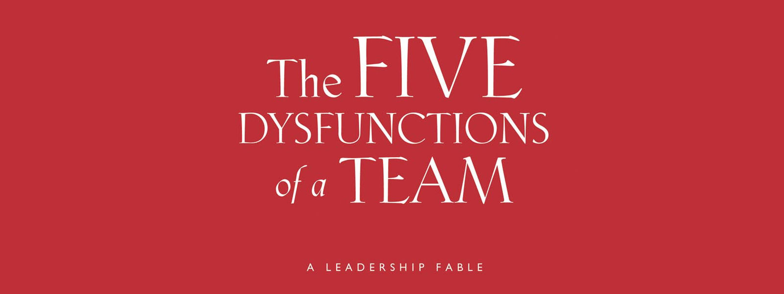 lencioni five dysfunctions of a team pdf