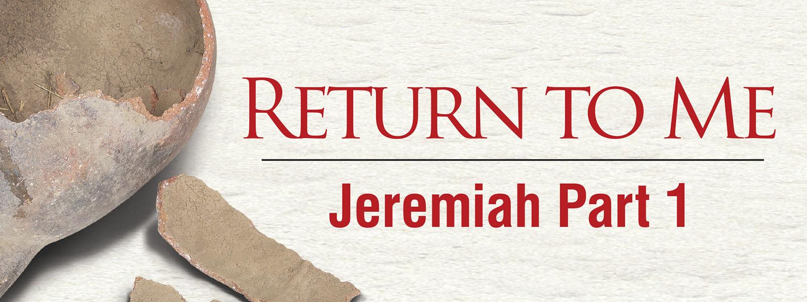 Jeremiah Part 1