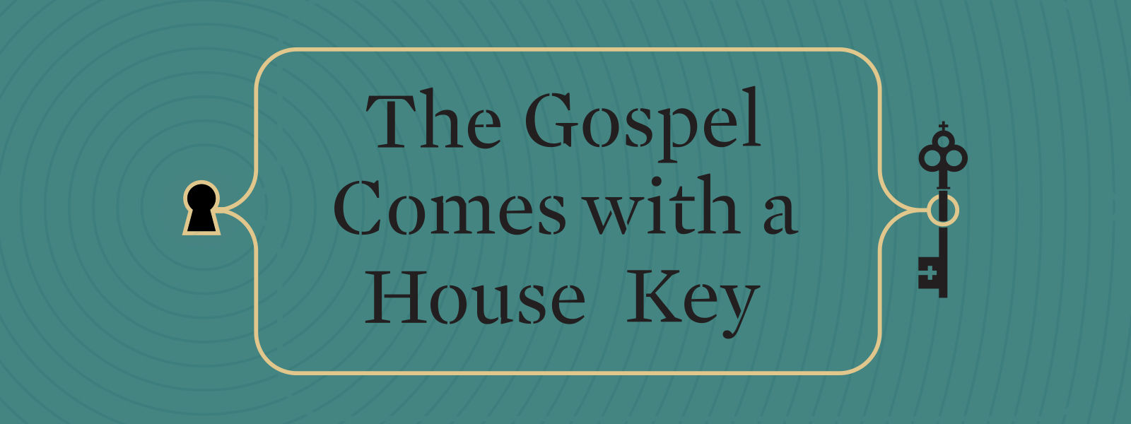 the gospel comes with a house key practicing radically ordinary hospitality in our post christian world