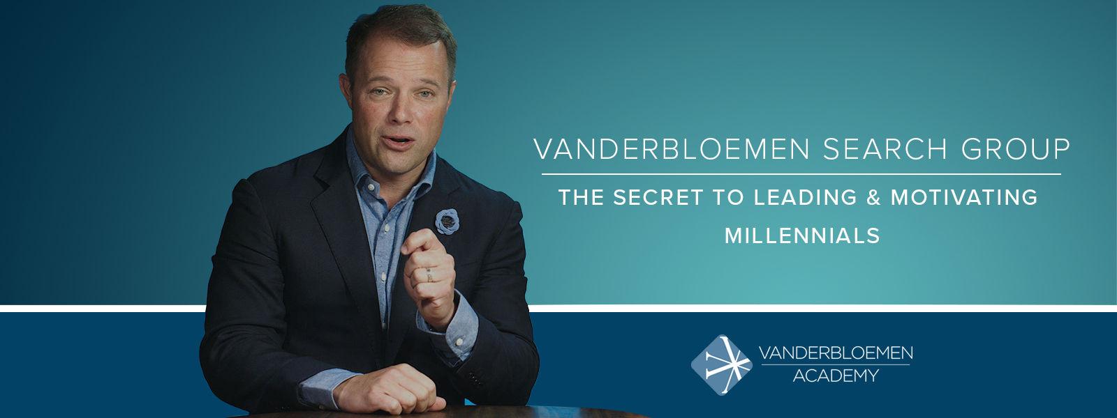 The Secret to Leading & Motivating Millennials