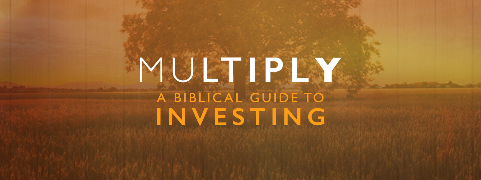 Multiply: A Biblical Guide to Investing