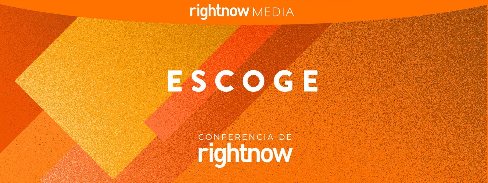 ESCOGE conferencia de RightNow