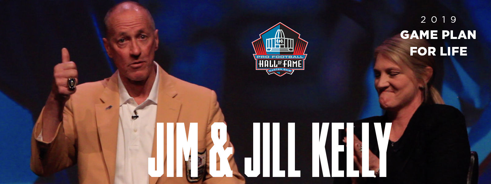 2019 Game Plan for Life featuring Jim & Jill Kelly