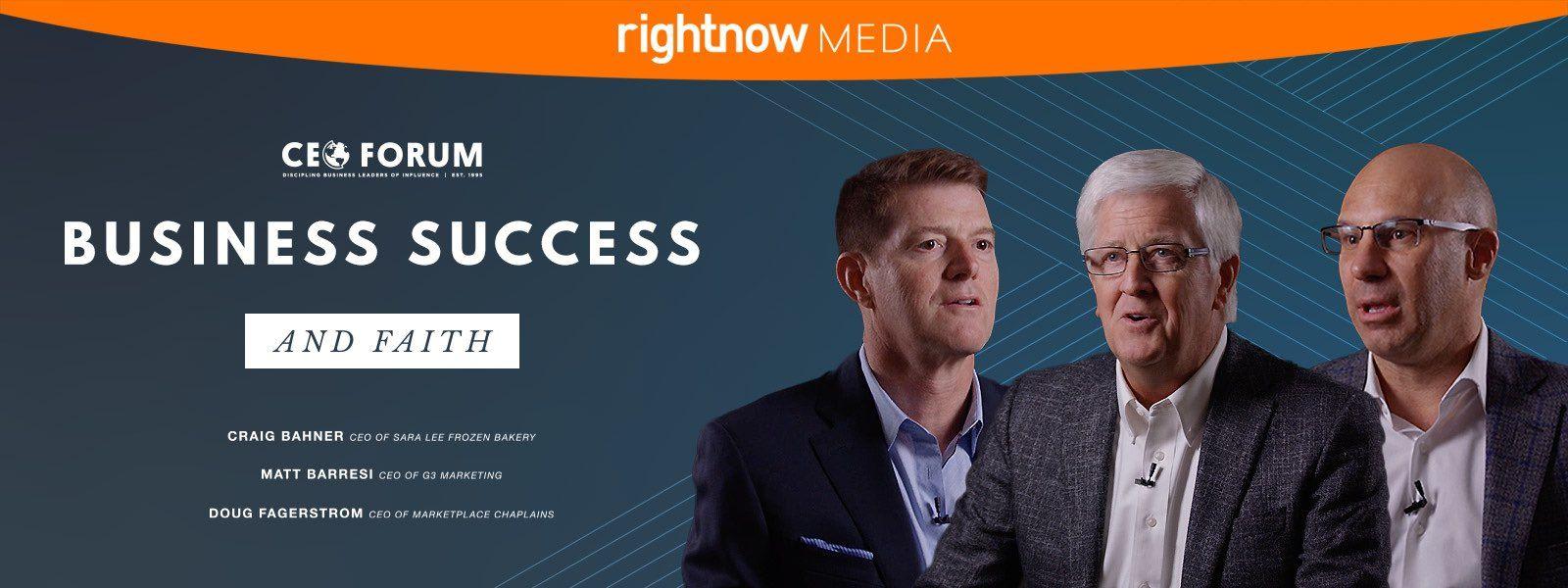Business Success and Faith