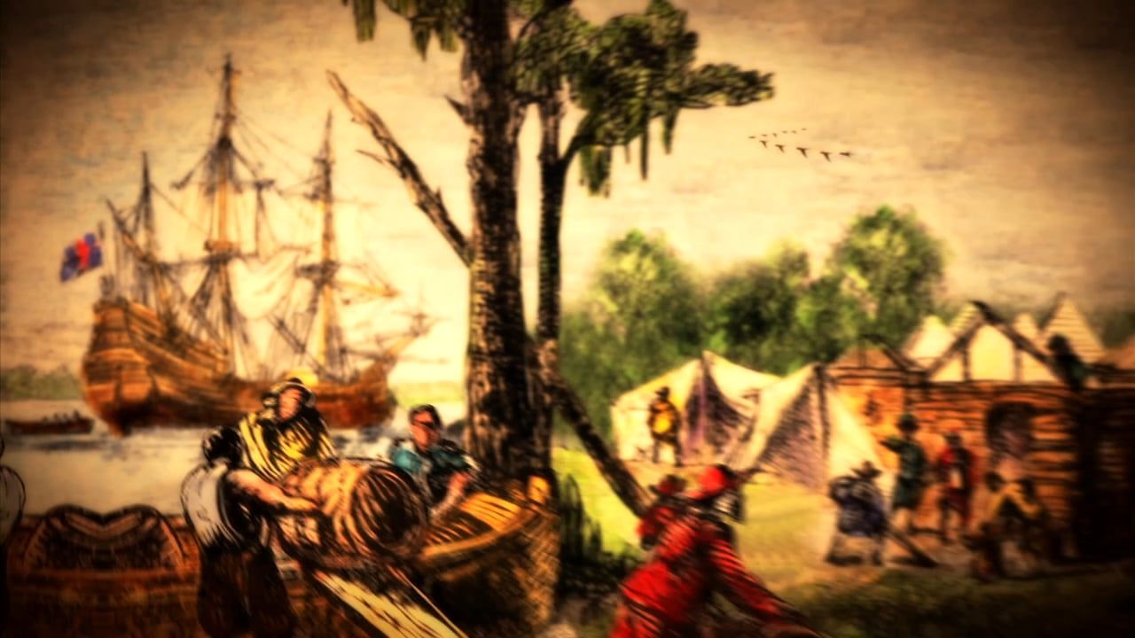 The Jamestown Colony, Pocahontas, Peter Mulenberg, Colonial Williamsburg, The Battle of Yorktown
