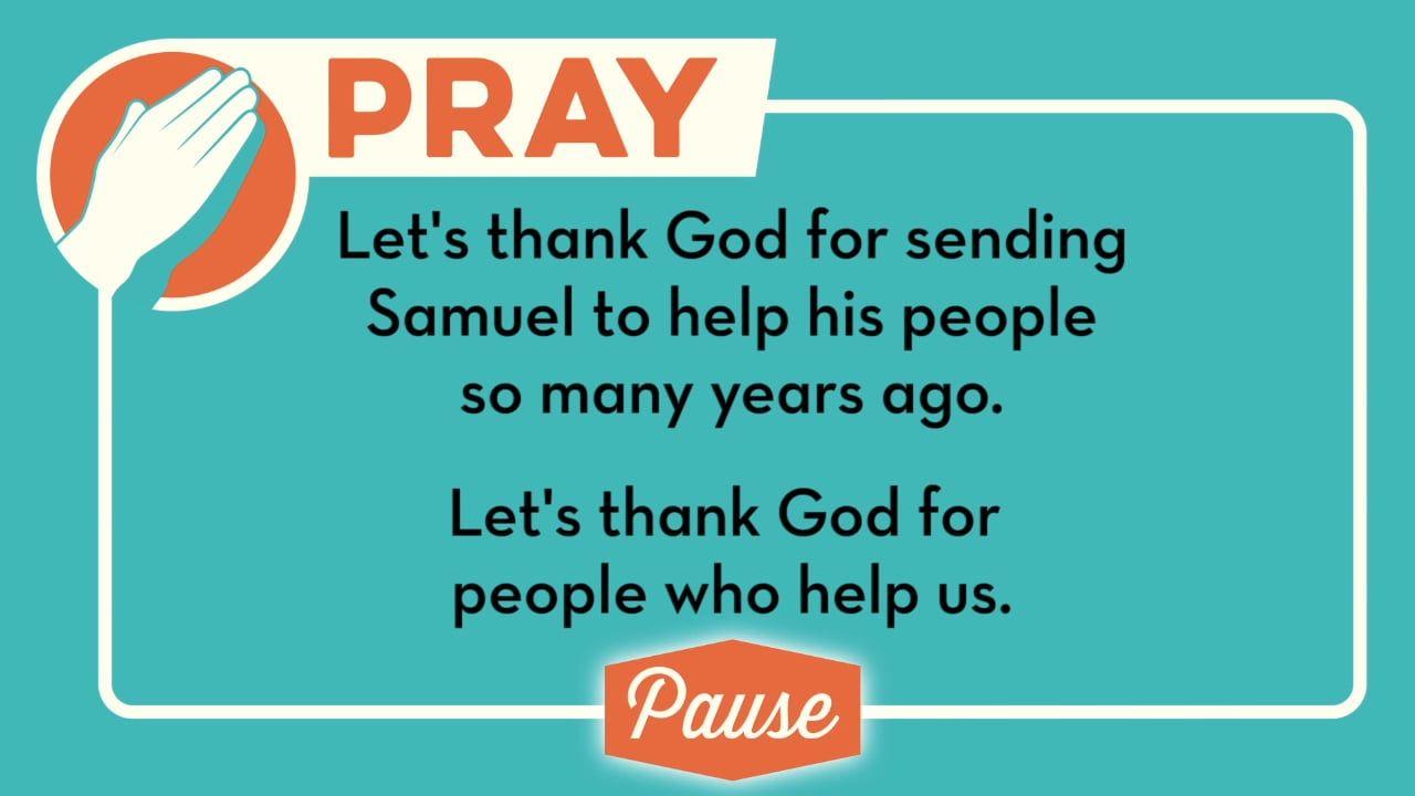 Samuel: God Spoke Through Him