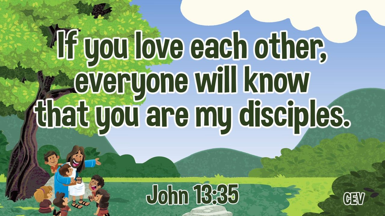 Jesus Picks His Disciples