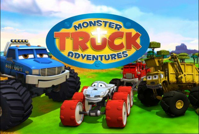Monster Truck Adventures Straight To the Finish Details