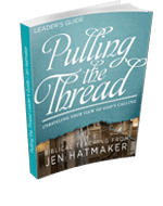 Leader's Guide Download - Pulling the Thread featuring Jen Hatmaker (10-pack)